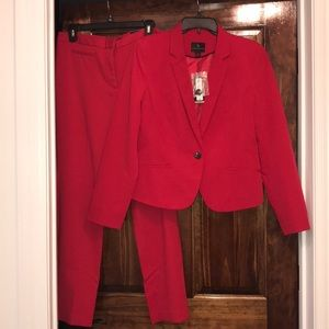 Blood Red Worthington Suit